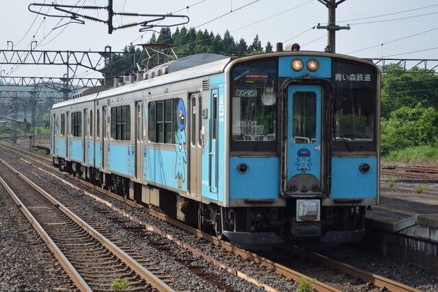 青い森鉄道の列車