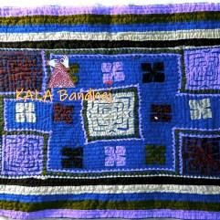 Blue Kutchi HandMade Pillow Cover