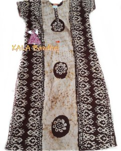 Chocolate Batic Night Gown