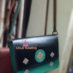 Kutchi Handmade Leather Purse | Bags Pattern 3
