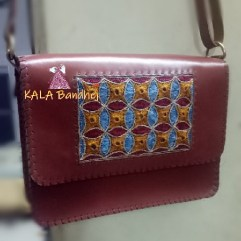 Kutchi Handmade Leather Purse | Bags Pattern 5