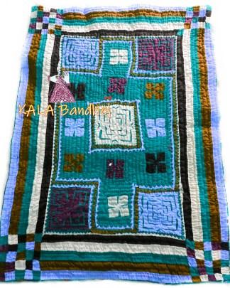 SkyRama Kutchi Handmade Dharki / BedSheet