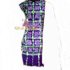 Jambli - White Cotton Gharchola DressMaterial