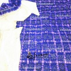 blue Gharchola DressMaterial