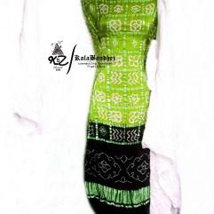 Chatni-Black GajiSilk Gharchola DressMaterial