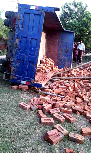truck-brick