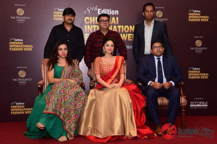 Sanam Shetty launches 8th edition Chennai International Fashion Week Poster Photos