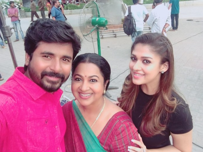 Radhika plays Sivakarthikeyan's mother