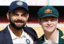 Adam Gilchrist and Virat Kohli