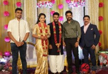 Celebrities at Actress Suja Varunee and Shiva Kumar Wedding Reception Stills