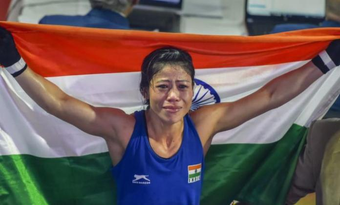 Narendra Modi wishes boxer MC Mary Kom