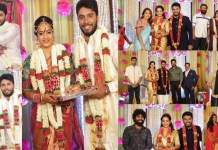 Suja Varunee and Shivakumar Wedding