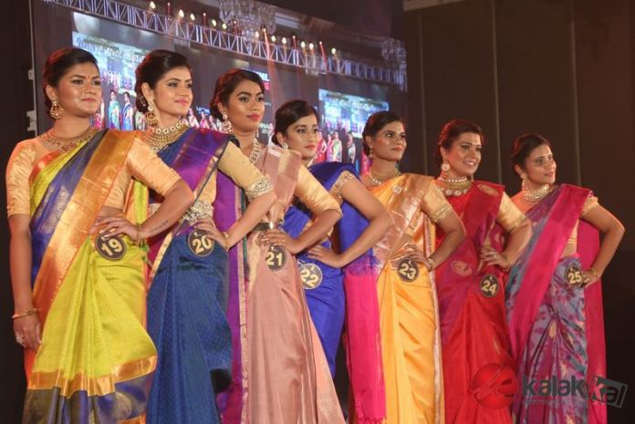 Celebs at the finale of 2018 Mrs Chennai Event