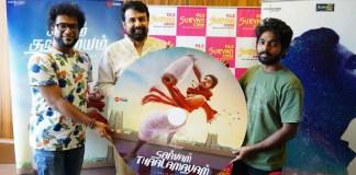 Sarvam Thaalamayam Single Track launch at Suryan FM