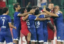 ISL Football Chennai team win