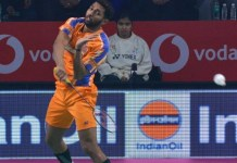 Badminton Leauge Ahmedabad Win