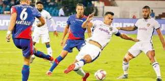 ISL Football: Chennai vs Mumbai