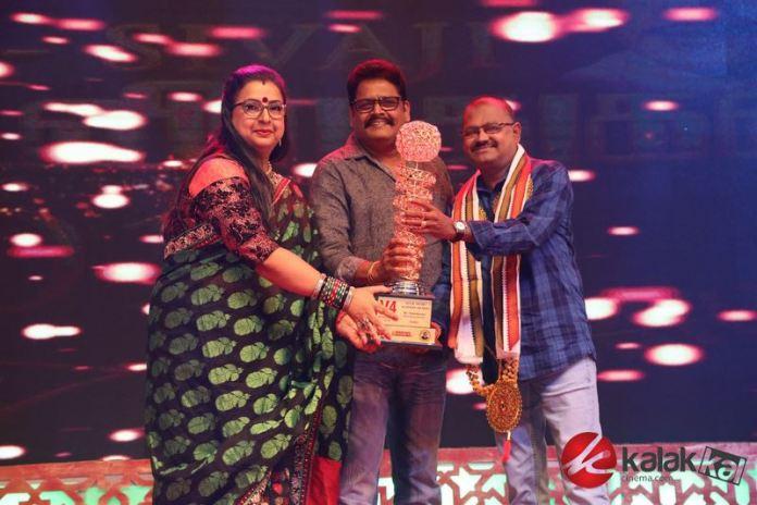 Celebrities at V4 Award Function 2019