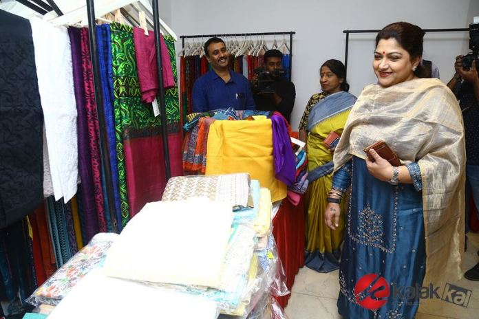 Actress Kushboo at The Madras Mela Event