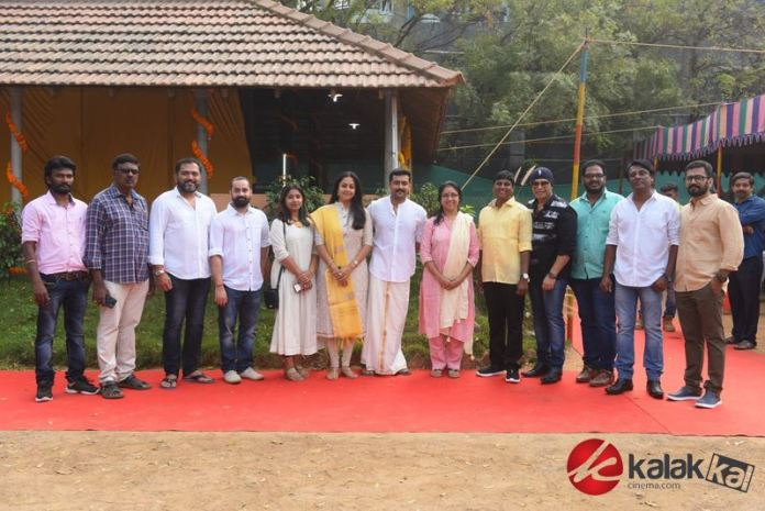 Actress Jyothika New Movie Launch Stills