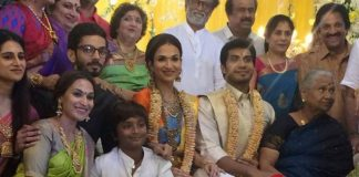 Soundarya Rajinikanth's Wedding Reception Photos