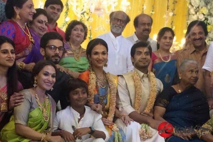 Soundarya Rajinikanth's Wedding Reception Photos
