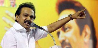 MK Stalin slams