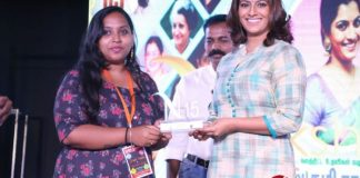 Actress Varalaxmi Sarathkumar at DG Vaishnav College Event Stills