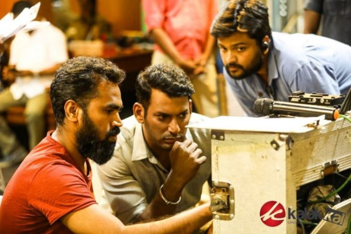 Ayogya Movie Working Stills