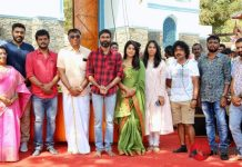 Dhanush New Movie Pooja Stills