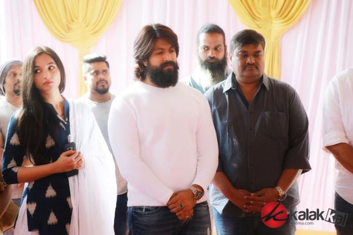 KGF Chapter 2 Movie Pooja Stills