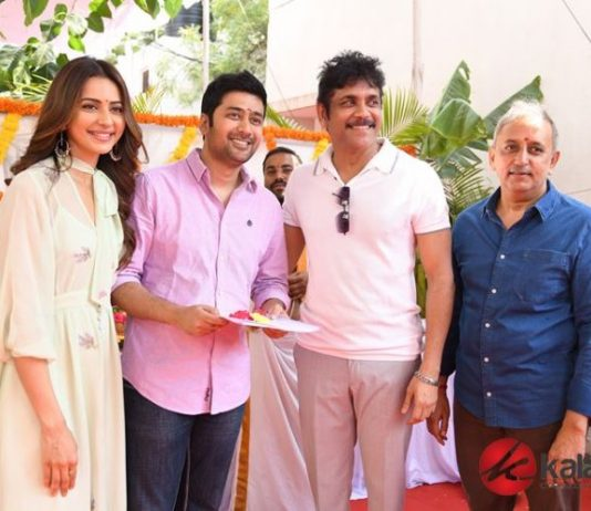 Manmandhudu 2 Movie Launch