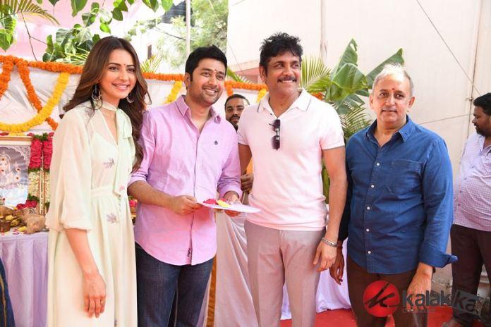 Manmandhudu 2 Movie Launch