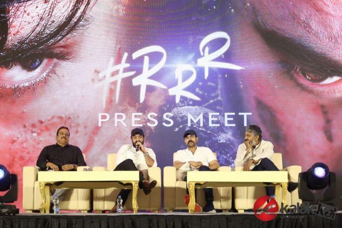 RRR Press Meet