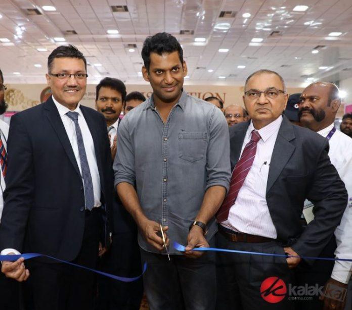 Vishal inaugurated UBM Indias 3 days Chennai Jewellery and Gem Fair Photos