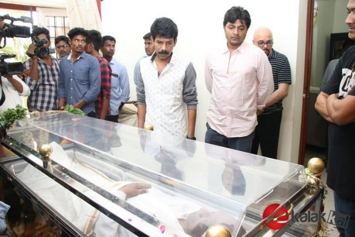 Celebrities Pay Homage To Director Mahendran Photos