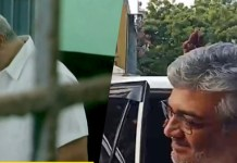 Thala Ajith and Shalini Casting their Votes
