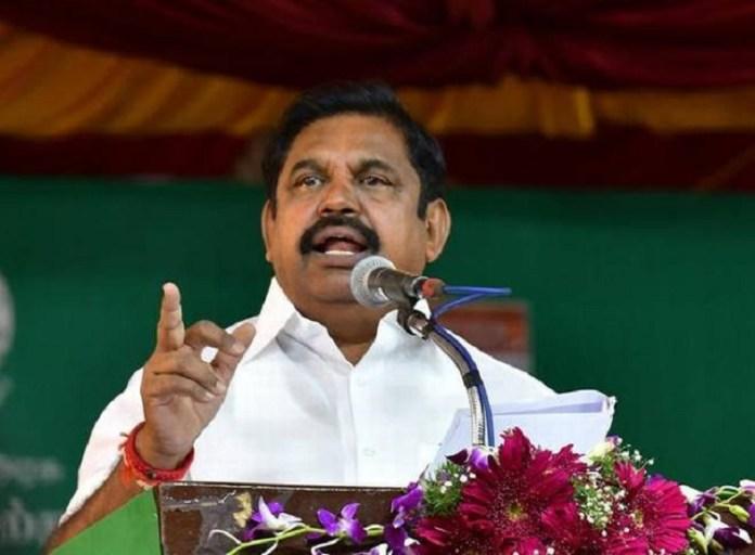 Edappadi Palaniswami Latest Speech : Tamil nadu   Chennai   current Chief Minister of Tamil Nadu   India   ADMK   Jayalalithaa