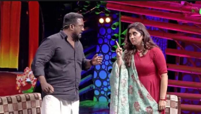 Vijay TV Priyanka : priyanka Pdeshpande | Latest Cinema News | Kollywood | Tamil Cinema | Vijay TV | MA KA Pa Anandh | Robo Shankar