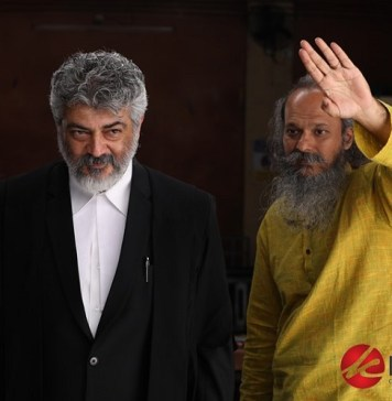 Nerkonda Paarvai Movie Working Stills | Actor Ajith, Director H Vinoth, Producer Boney Kapoor, Cinematographer Nirav Shah, Rangaraj Pandey