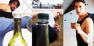 Bottle Cap Challenge Video : Arjun And Akshay's Massive Video | Kollywood Cinema News | Tamil Cinema News | Trending Cinema News