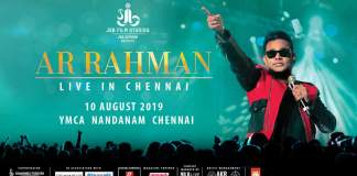 AR Rahman Live Program on Agust 10 at YMCA - Official Update.! | Kollywood Cinema News | Tamil Cinema News | Trending Cnema News