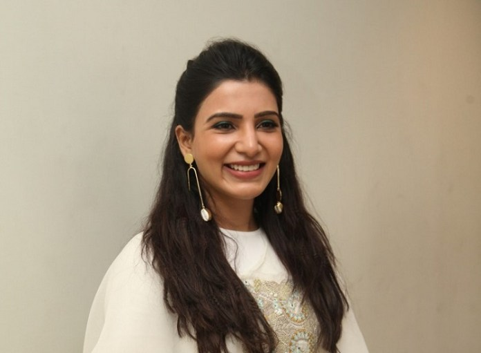 Actress Samantha New Photos