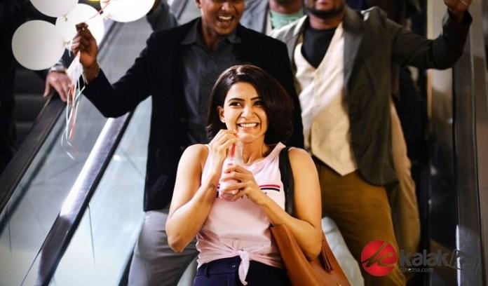 Oh Baby Movie Stills ft Samantha Akkineni, Lakshmi, Naga Shaurya, Rajendra Prasad, Directed by B.V.Nandini Reddy, Music by Mickey J. Meyer.