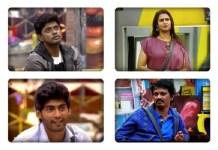 Bigg Boss 9th Elimination Voting Status : Shocking Update   Bigg Boss Tamil   Bigg Boss Tamil 3   Cheran   Kasthuri   Tharshan