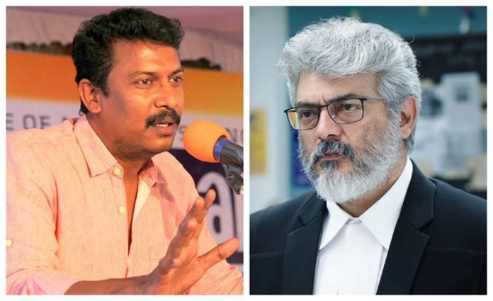Samuthirakani Comment About NKP and Ajith's Acting.! | Thala Ajith| Nerkonda Paarvai | Kollywood Cinema news | Tamil Cinema news