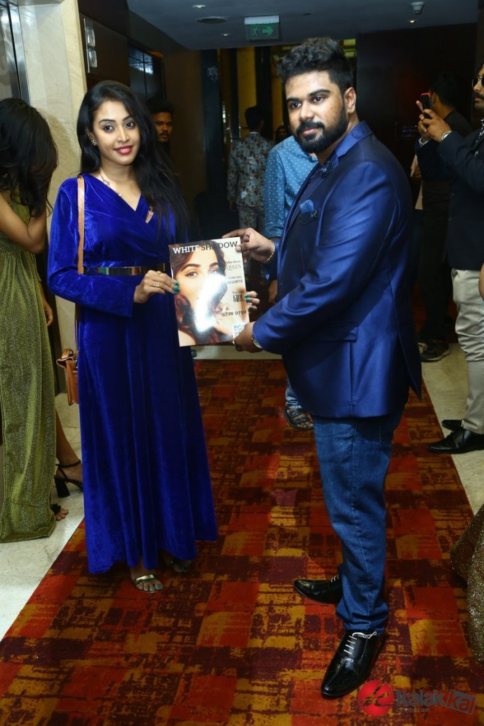 White Shadow Magazine launched by Actress Parvatii Nair & Actor Vimal