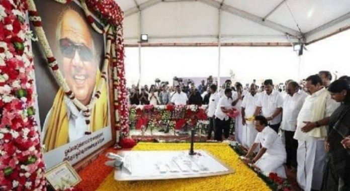 Karunanidhi Death Anniversary : Political News, Tamil nadu, Politics, BJP, DMK, ADMK, Latest Political News, Karunanidhi Death