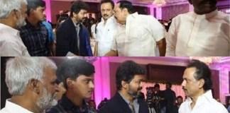 Stalin and Vijay : Political News, Tamil nadu, Politics, BJP, DMK, ADMK, Latest Political News, Thalapathy Vijay-DMK leader MK Stalin in one frame