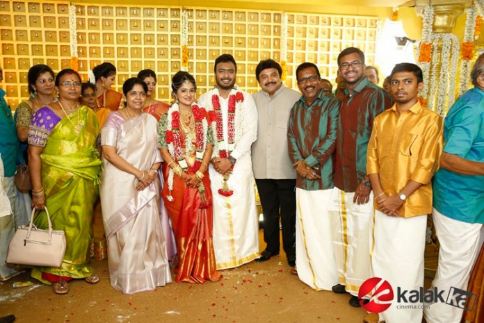 Actor Charlie Son Adithya weds Amirtha